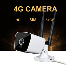 4G SIM Card Mini IP ONVIF GSM Camera Wireless Wifi Memory Card Baby Monitor Security Audio Night Vision Inner Battery Camera