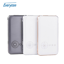 5000 mah Battery Everycom S6 plus Mini pocket projector dlp wifi portable Handheld smartphone Projector Android AC3 Bluetooth