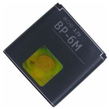New arrival BP-6M battery 1100mah for NOKIA N93 N73 9300 6233 6280 6282 3250 Mobile phone accessory high quality
