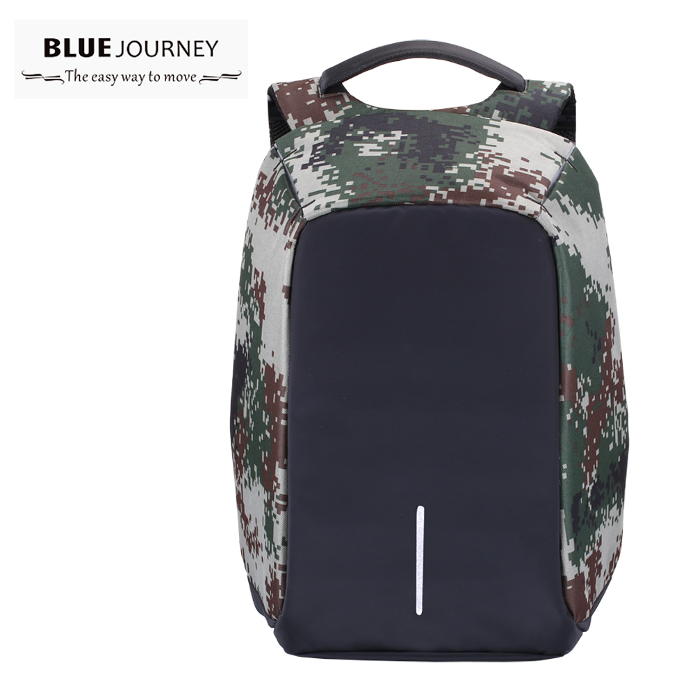 Multifunction USB charging Men 15  inch Laptop Backpacks For Teenager Fashion Male Mochila Leisure Travel backpack anti thief<br>