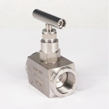 "3/4"" BSP Female SUS 304 Stainless Steel Flow Control Needle Valve water oil fuel steam(China)"