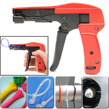 1pc Carbon Steel Cable Tie Gun Tool Cable Tie/Wrap Zip Tensioning Tool For Ties 2.2mm-4.8mm