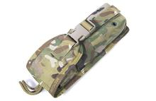 Free shipping In stock FLYYE genuine MOLLE   Clamshell long intercom Pouch Flashlight Pouch Military  combat CORDURA  C032