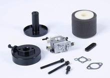 Walbro 813 Carburetor Kit with damper and air filter for 1/5 rc car engines parts(China)