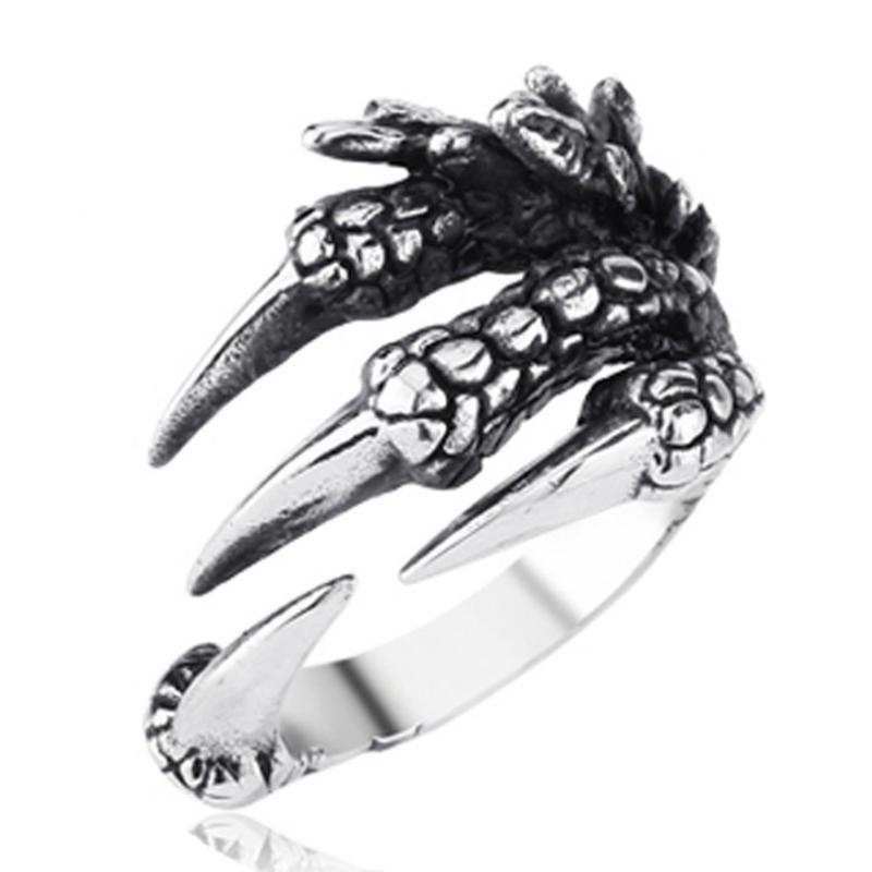 แหวนสวยๆ Code 039 แหวนDragon Claw สแตนเลส10