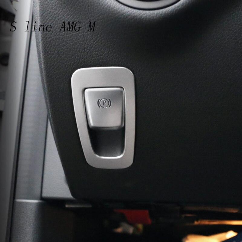Interior Electronic Handbrake Frame Cover For Mercedes Benz GLC X253 2015-2019