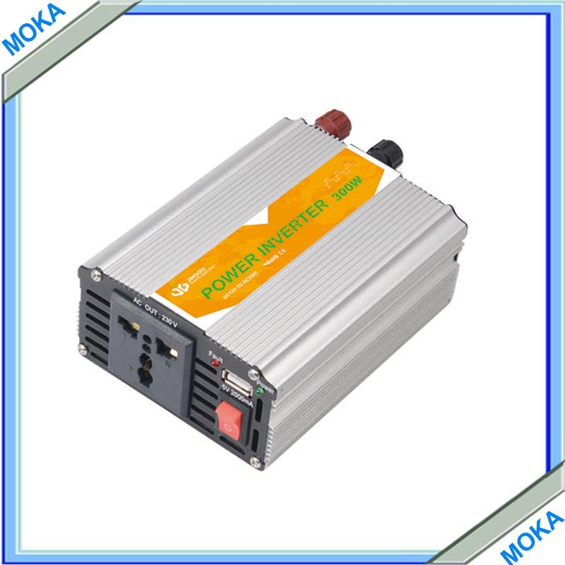 Free shipping 300 WATT 300W Modified Sine Wave Car Home 12V DC to 220V - 240V AC Out Power Inverter<br><br>Aliexpress