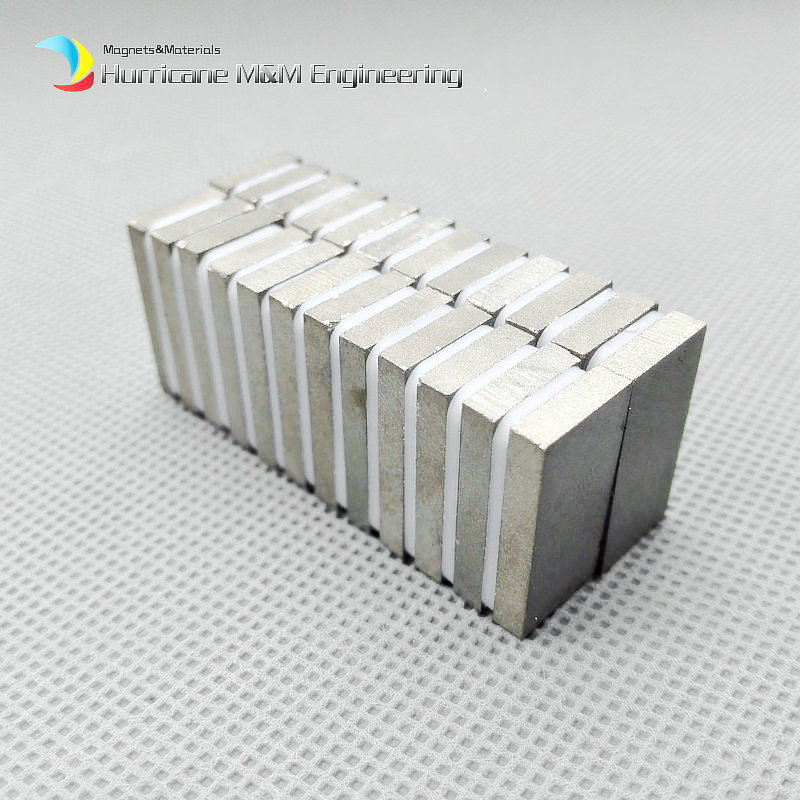 1 pack SmCo Magnet Block 20x10x3 mm Grade YXG24 350 Degree C High Operating Temperature Permanent Magnets Rare Earth Magnets<br>