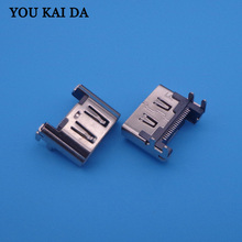 50PCS for Playstation 4 Play Station 4 PS4 HDMI Port Socket Interface Connector Repair Parts Motherboard Port Jack Connector(China)