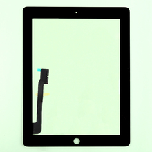 10pcs/lot  Free shipping by DHL or EMS 100%  tested well original for ipad 3&4 Touch Screen Replacement For iPad 3&4 touch panel