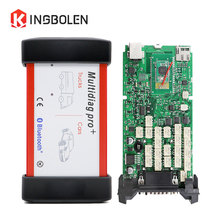 CDP TCS Multidiag Pro+ Single green board OBDII interface Scanner 2014 R2 Keygen 2015 R3 CAR/TRUCK/Generic Diagnostic tool