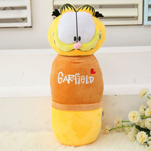 Kawaii Garfield Dolls Long Pillows Soft Cotton Plush Stuffed Animal Toys for Children Toys Garfield Pillows Plush Toys(China)