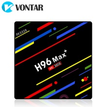 2018 VONTAR H96 MAX Plus TV Box Android 8.1 Smart Set top box Rockchip RK3328 4 gb 32 gb 64 gb USB3.0 H.265 4 k PK T9 HK1(China)