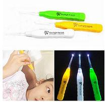 New Luminous LED Flashlight Dig Ear Grilled Ear Clean Mon Help Kids Wax Remover(China)