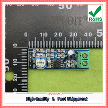 Free Shipping 5pcs LM386 Module 200x Gain Audio Amplifier Module board 386 (D5A4)