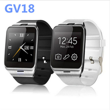 "Plus GV18 Life Waterproof smart watch,Phone 1:55 ""NFC GSM SIM card camera watches SmartWatch for Android phones Samsung iPhone6(China)"