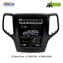 10.4Vertical Screen Android 6.0 Car DVD GPS Glonass Navigation Radio Player for Jeep Grand Cherokee 2013-2016 RAM 2GB 32G Stereo