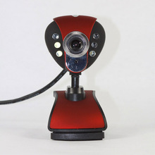 Manufacturers Selling Cheap Webcam Fire Phoenix 899 Digital Camera Desktop Camera with Night Vision Lamp for Skype Computer(China)