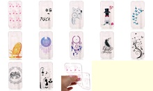 Butterfly Dog Wind chimes Wolf Pattern Transparent Soft TPU Case For ASUS ZE520KL ZC520TL ZS570KL(China)
