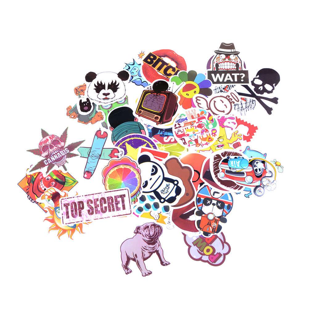 25pcs/50pcs stickers graffiti laptop luggage car doodle bomb图片