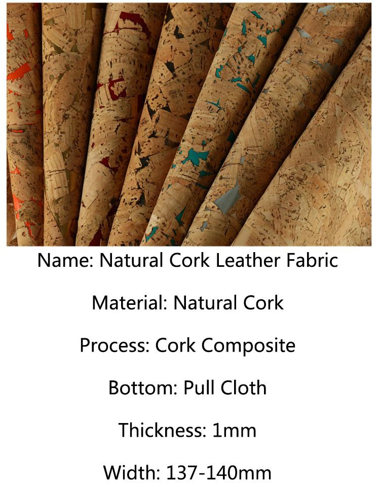 Soft Liège Cuir Tissu Naturel Cuir Synthétique Sac Meubles Craft À faire soi-même Cloth