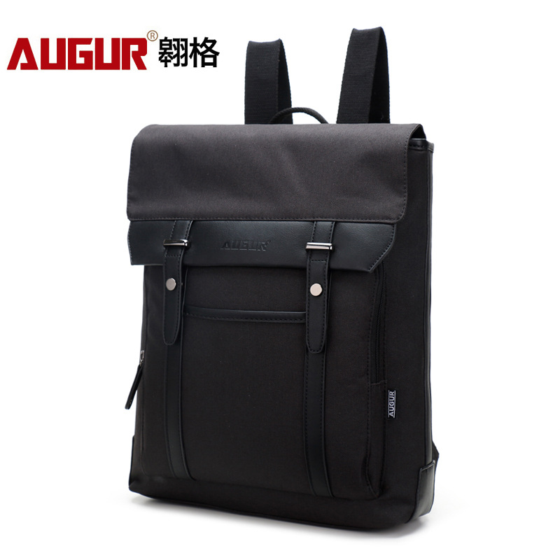 Mens Backpack Nylon Slim Waterproof Bag for Male Mochila 14.1 Inch Laptop Notebook Bag for Computer Lightweight Laptop Backpack<br>