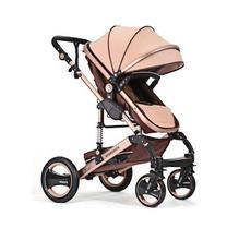Baby Strollers brands High Landscape 6 Colors Passeggino Luxury Shock absorption Sit and Lie Pram Lightweight aluminum alloy