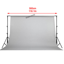 3m 9.8ft Photographic Background Backdrop support system holder Stand Cross bar