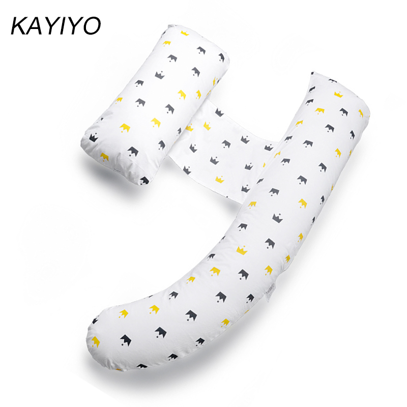 L063-KAYIYO Pregnancy Pillow for Pregnant Women Comfortable Maternity Pillow Pregnant Sleeping Bedding Pillows U Shaped Body Pillows (1)