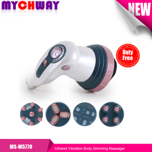 Electric relax tone mambo Body Massager Massage cellulite machine Handheld Health care beauty vibrator slimming massager mychway(China)