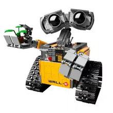 Newest Lepin 687pcs dea Robot WALL E Building Set Kits BlocksBringuedos Bricks Cute Toy For Children