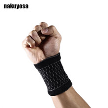 Gym Protector Wristbands outdoor sports Bracers bandage basketball sports weightlifting Wrist protection(China)