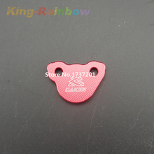 Red CRF Anodized CNC Alloy Rear Brake Reservoir Fluid Cover Fit CR 125 250 CRF 250R 250X 450R 450X Motorcross Dirt Bike