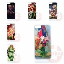 Poison Ivy and Harley Quinn For Samsung Galaxy J1 J2 J3 J5 J7 2016 Core 2 S Win Xcover Trend Duos Grand Phone Case Skin Cover