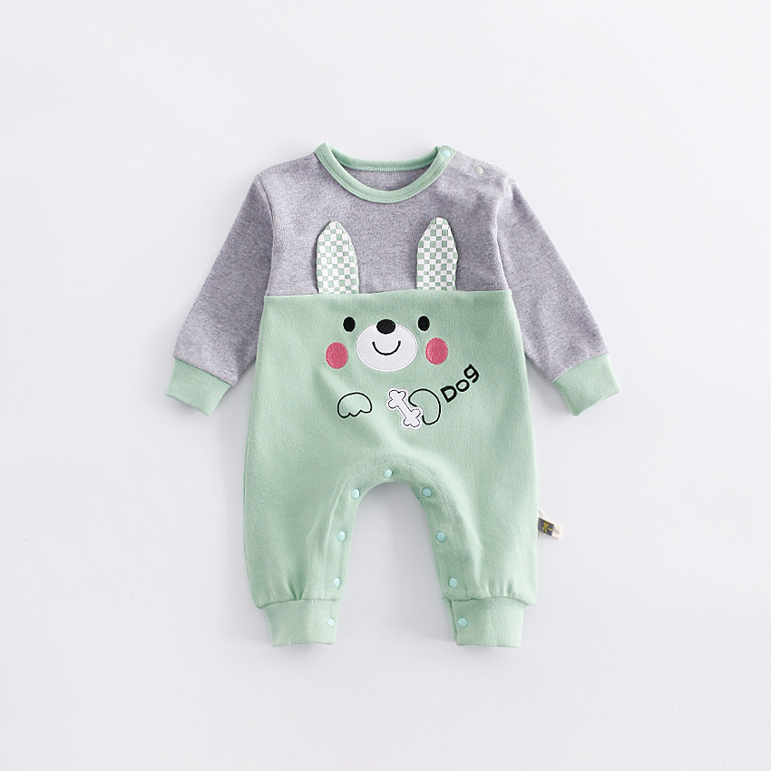 peninsula baby autumn winter baby rompers cute christmas baby jumpsuits cold-proof thickening warm kid climbing clothes<br>
