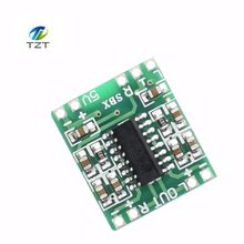 10PCS PAM8403 Super mini digital amplifier board 2 * 3W Class D digital amplifier board efficient 2.5 to 5V USB power supply(China)