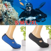 1 Pair Water Sports Neoprene Diving Socks Anti-Skid Beach Sock Swimming Surfing Adult Diving Boots Wet Suit Shoes