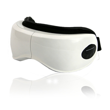 Foldable wireless acupuncture Eye Massager Has music Broadcast Automatic heating EMS relieve fatigue Eye Care 110-240V