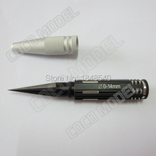 High Quality New RC Hobby model Metal Hole puncher HSP 1:10 Car shell Reamer Drills 0-14mm