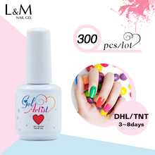 300pcs a lot Low price gel Brand Gelartist Free shipping Wholesale Nail Factory China Gel(China)