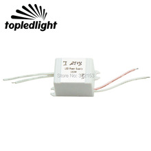 High Power Waterproof 3W LED Driver Portable Lighting Transformers Input AC12-24V Output 2-4V 700mA For 3W High Power Led Light