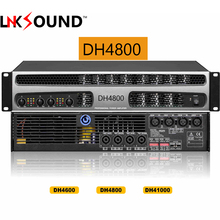 4-channel Professional power amplifier class d amps DH4800 4X800watts stage power amplifier for line array switching power 2U
