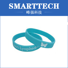 fashion men silicone rubber bracelet, silicone injection moulding