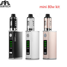 Buy Original mini 80w kit electronic cigarette kit Built-in 2200mah battery LED display vape pen vaporizer Mechanical box mod kit for $21.06 in AliExpress store