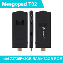 MeegoPad T02 intel compute stick PC Stick PC Mini Desktop PC Pre-installed Windows 10 Home Version