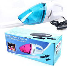 Best Seller 12V High Power Mini Portable Car Vacuum Cleaner Wet & Dry Dual-Use 60W Superacids Suction Fasting Clean Free shiping