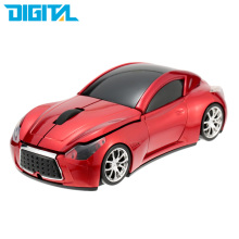 New Fashion Infiniti Sports Car Shape 2.4GHz Wireless Mouse 1600DPI Optical Gaming Mouse Mice for computer PC free shipping