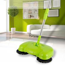 yiJiA Pushing Sweeper Vacuum Cleaner Household Floor Cleaner Manually Cleaning Machine Broom no need bend over no electricit(China)