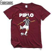 New 2017 ANDREA PIRLO COOL PRINTED MENS FUNNY JUVENTUS ITALY PARTY T Shirt Tee Shirt Unisex More Size and Colors