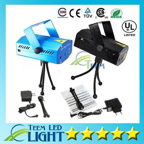 Mini Laser Stage Lighting 150mW Mini Green&amp;Red LED Laser DJ Party Stage Light Black Disco Dance Floor Lights<br><br>Aliexpress